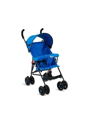 BabyHope Erkek Kız Bebek Baston Bebek Arabası Bbyhp Mavi